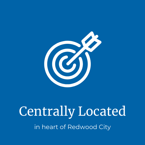 centrally located in RWC