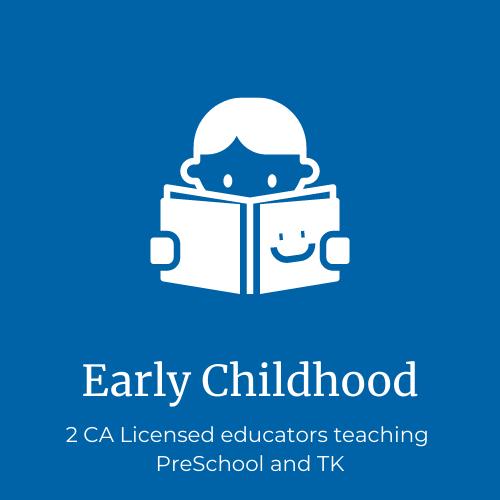 2 licensed early childhood educators