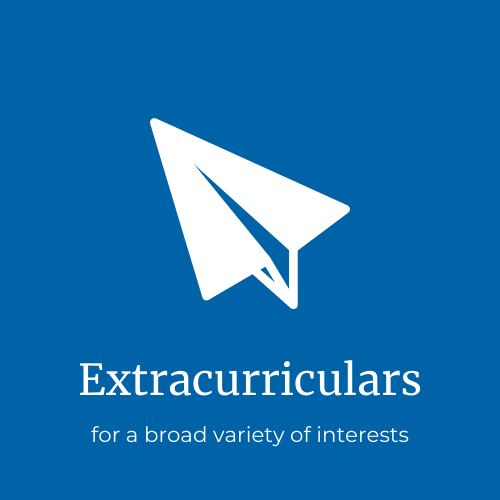 extracurricular programs for many interests