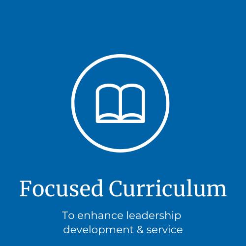 Curriculum focused on leadership development & service