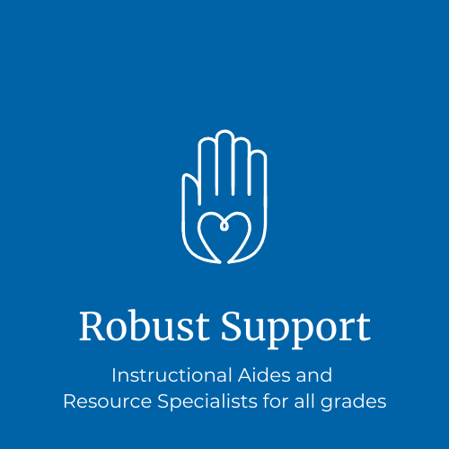 Robust student support for all learners